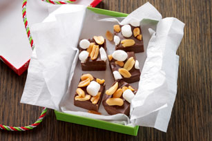 Rocky Road Fudge Bites