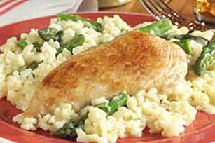 Chicken and Asparagus Risotto Image 1