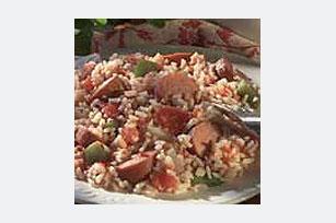 15-Minute Sausage & Rice Skillet Image 1
