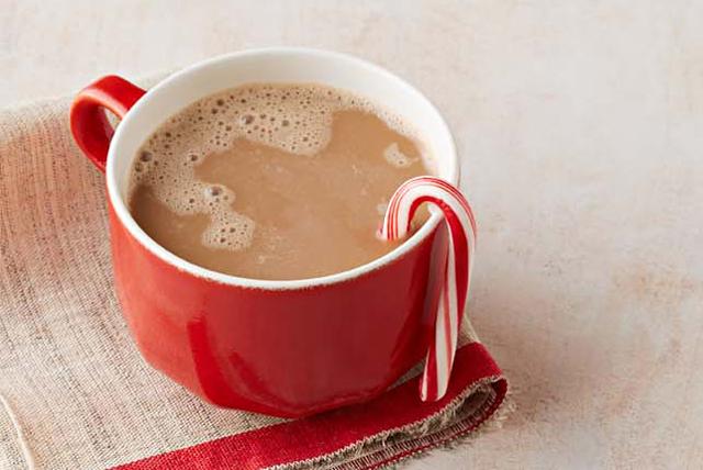 Café crémeux au chocolat et à la menthe poivrée Image 1