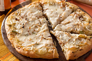 Creamy Rosemary, Garlic & Potato Pizza