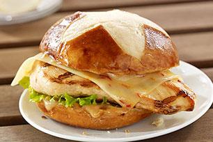 Grilled Chicken-Asiago Ranch Club