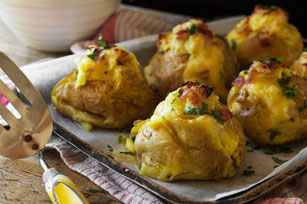 Make-Ahead All-Dressed Baked Potatoes