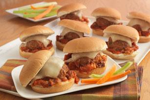 Baked Parmesan Meatball Sliders Image 1
