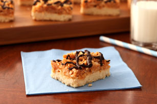 Chocolate, Caramel and Coconut Bars Image 1