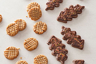 Chewy Honey Roasted Peanut Butter Cookies