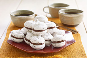 Peanut Butter-Chocolate Meringue Cookies