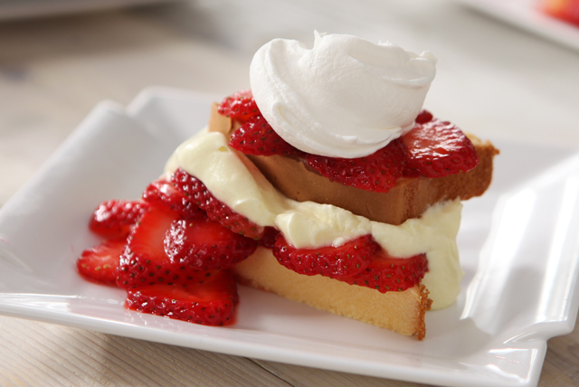 Strawberry-Lemon Shortcake Image 1