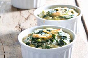 Spinach-Parmesan Frittatas