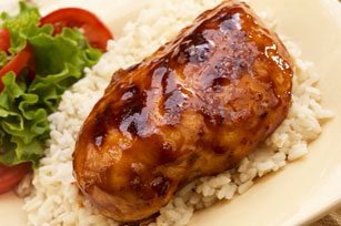 Jamaican-Style Grilled Barbecue Chicken Breasts