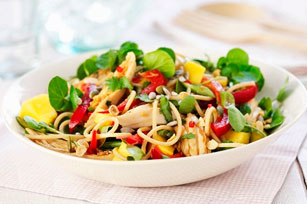 Asian Sesame Noodle-Chicken Salad Image 1