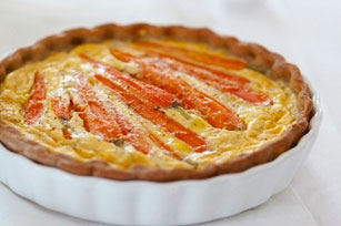 Carrot and Zucchini Quiche Image 1