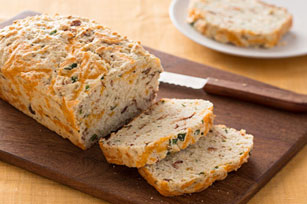 Buttermilk Cheddar-Bacon Bread
