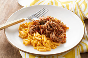 Barbecue Pulled Pork-Chili Mac