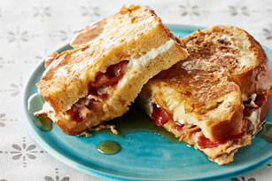 Bacon and Cream Cheese-Stuffed French Toast