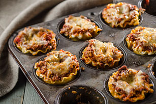 Mini Lasagna Cups Image 1