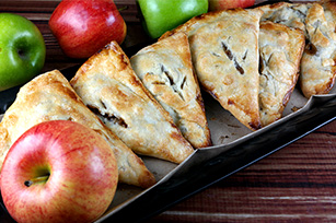 Caramel Apple Pie Pockets