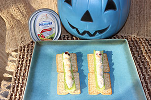 Celery and Cream Cheese Mummies Image 1