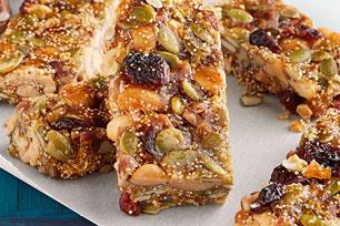 Crunchy Seed & Nut Bars