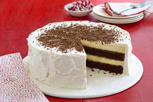 Chocolate-Orange Cheesecake Layer Cake