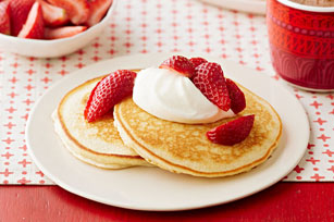 Strawberry Cheesecake Pancakes