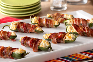 Bacon-Wrapped Jalapeno Peppers