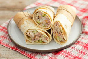 Creamy Chicken Salad Wraps Image 1