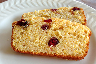 Thanksgiving Cranberry Cornbread