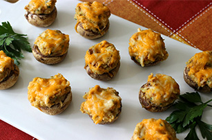 Stuffed Garlic Mushrooms Recipe Image 1