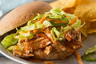 Slow Cooker BBQ Pulled Pork Sandwiches Image 1