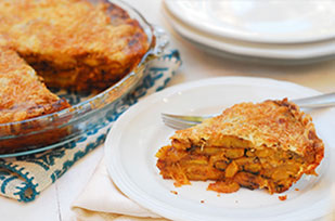 Four Cheese Plantain Tart Image 1
