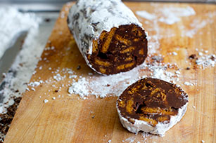 Easy Chocolate Salame Image 1