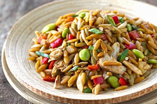 Asian Orzo and Rotisserie Chicken Salad Image 1