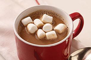 Chocolate caliente en 1, 2 por 3