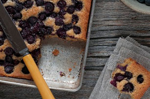 Blueberry-Sour Cream Coffee Cake Image 1