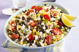 Zesty Lime Rice Salad Image 1