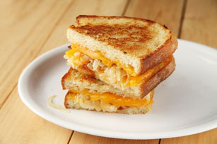 Grilled Cheese and Onion Sandwiches