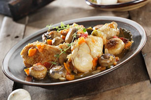 Braised Chicken Thighs with Vegetables Image 1