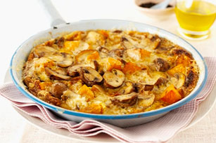 Mushroom and Sweet Potato Frittata