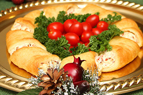 Christmas Wreath Appetizer  Kraft Recipes