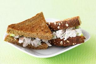 Sandwichs à la salade de poulet aux pommes Image 1