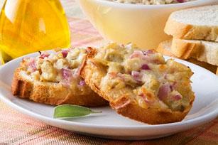 Bean and Artichoke Bruschetta Image 1