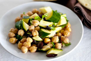 Chickpea and Zucchini Salad Image 1