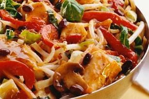 Asian Chicken Noodle and Veggie Stir-Fry