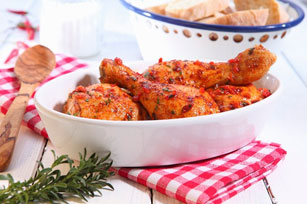 Sun-Dried Tomato Drumsticks