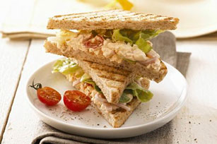 Tomato-Studded Egg Salad Sandwiches Image 1
