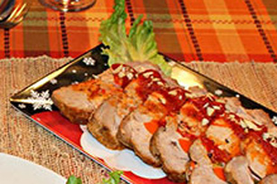Pork Loin with Russian Salad Image 1