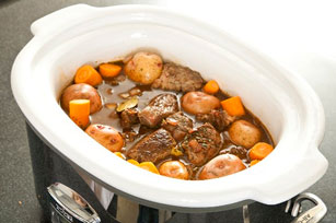 Slow-Cooker Barbecue Beef Stew Image 1