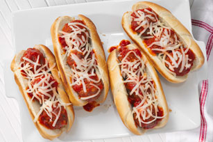 Marinara Meatball Subs