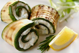 Grilled Zucchini Roll-Ups Image 1